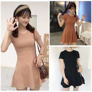 Women Simple Mini Dress