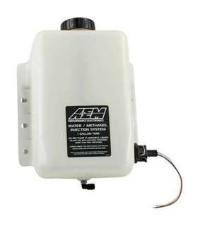 AEM water methanol one gallon tank with conductive fluid lever sensor