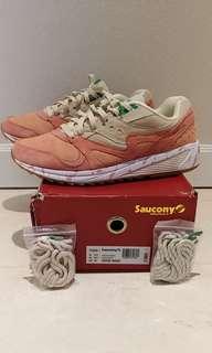 "Saucony Grid 8000 ""Shrimp Scampi"" US 9.5 BNIB"