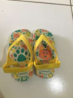 sandal havaianas baby