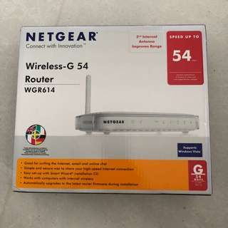 Netgear Wireless-G Router WGR614