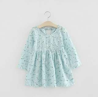 Blue Daisy Dress