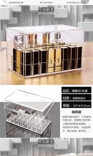 Acrylic Lip Stick Storage