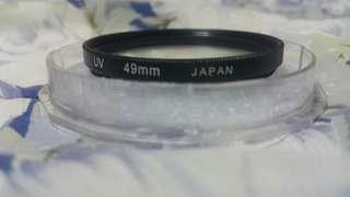🚚 UV FILTER 49mm for 50mm lenses