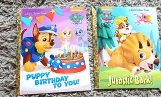 🆕 Paw Patrol / Puppy Birthday to you! / Jurassic Bark!