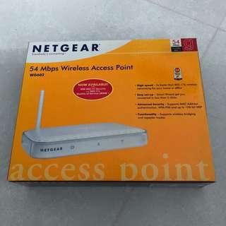 Netgear 54 Mbps Wireless Access Point WG602