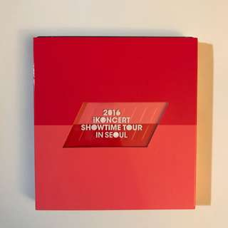 2016 iKON - iKONCERT SHOWTIME TOUR IN SEOUL LIVE CD