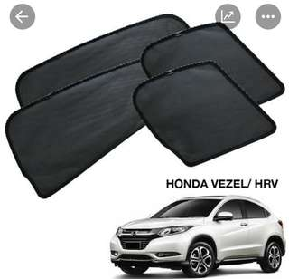 Honda vezel magnetic sunshade 4pcs