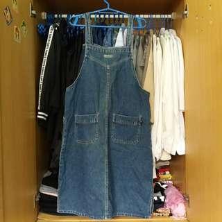 Crissa Jeans Denim Jumper Dress