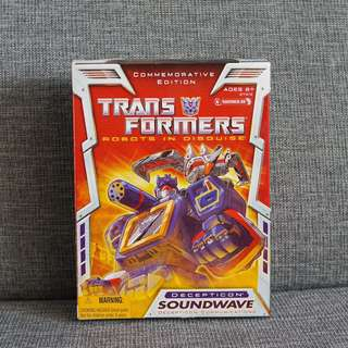 Transformers Soundwave Commemorative Edition MISB