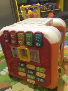 Vtech 玩具 cube