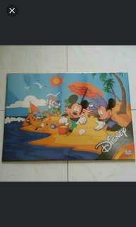 Limited Edition Disney Mickey Celebrate 75 Years Of Fun Poster