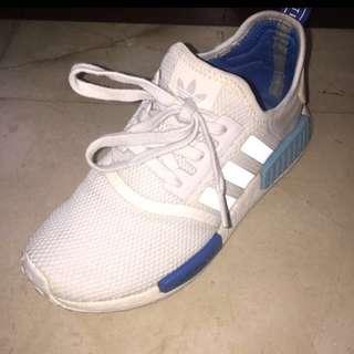 🚚 Adidas NMD 白藍 正版👍🏻👍🏻👍🏻