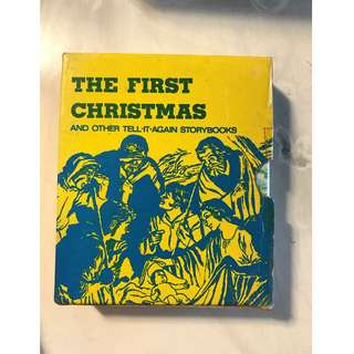 The First Christmas Book Set
