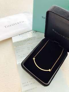 Tiffany & co T-smile pendant