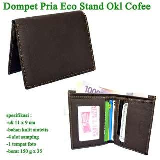 Dompet Cowok Kulit Eco Cofee Stand Coffee