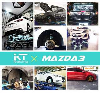 Mazda 3 Coilovers By KT Racing