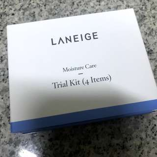 Laneige Moisture Care Trial Kit (4 items) sample