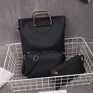 237- 3-in-1 Set Handbag