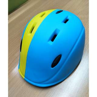 Kids Helmet XS (Size: 46-51.5CM) for 1-4 years (Blue)