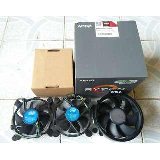 Fan Processor Amd Ryzen & Intel 1150