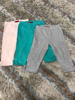 Set of girls leggings bundle