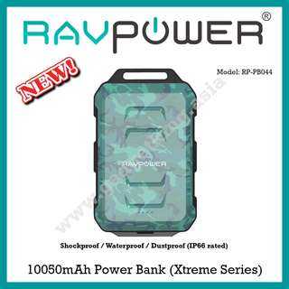 [link in bio] RAVPower 10050mAh IP66-rated Power Bank