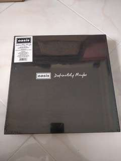Oasis Definitely Maybe Limited Edition Super Deluxe Boxset LP Vinyl.