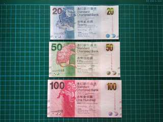HONG KONG Dollar UNC set