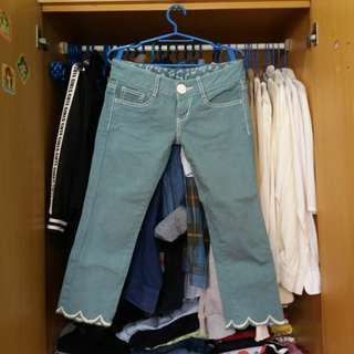 Low Rise Hipster Jeans (3/4)
