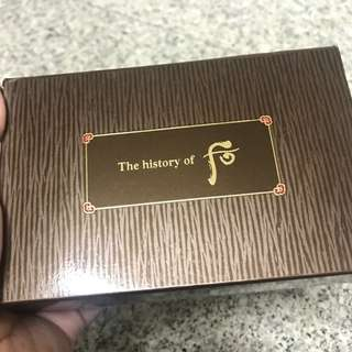 History of whoo Gongjinhyang 3 pieces special gift kit
