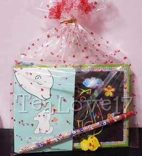 Scratch art goodie bag