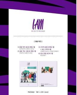 [Preorder] (G)I-DLE 1st Mini Album-I Am