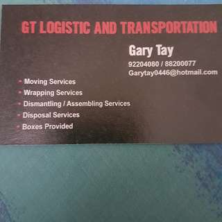 GT LOGISTIC AND TRANSPORTATION