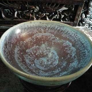北宋钧窑大碗(冬天里的大雪)(供赏)86218574
