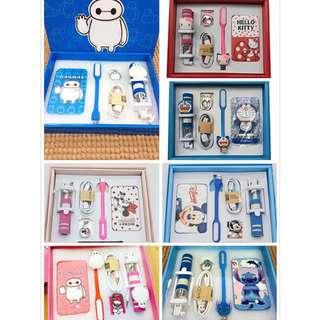 Mobile accessories gift set 5pcs