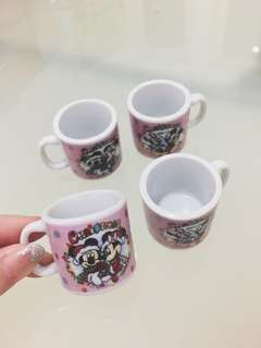 gelas mini mickey mouse