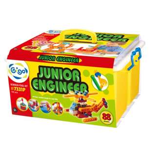 GIGO Junior Engineer (160pcs) and Magic Gears (62 pcs) all pieces intact in excellent condition