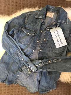 Ralph Lauren denim shirt/ over shirt type jacket