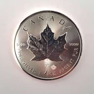 Canada Maple Leaf Silver Coin 1oz