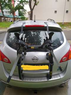 Saris RS car bicycle rack