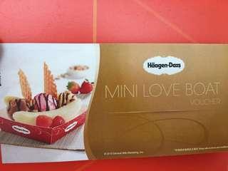 Haagen-Dazs💕愛情號雪糕3球券《只有6張》