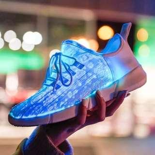 Galaxy LED shoes