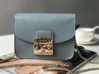 NEW COLOUR❗️Furla metropolis - dusty blue