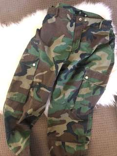 Missguided Printed Camo pants trousers