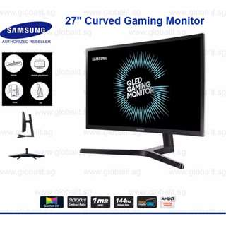 Samsung 27inch curved 144Hz 1080p monitor