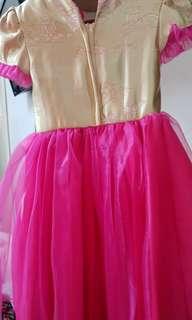 Chong sam girls dress