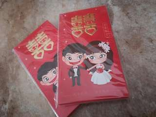 Wedding red packets #OCT10