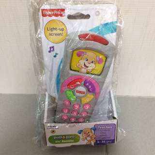 Brand New Fisher Price Laugh & Learn Sis Remote Control