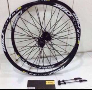 Mavic Crossride 9MM Wheelset 26 / 27.5 / 29